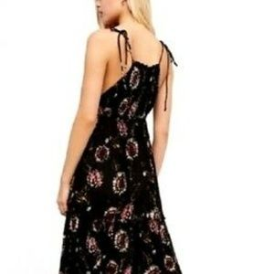 Free People Size M Garden Party Boho Maxi Dress
